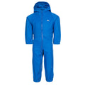 Cobalt - Front - Trespass Little Kids Unisex Dripdrop Padded Waterproof Rain Suit