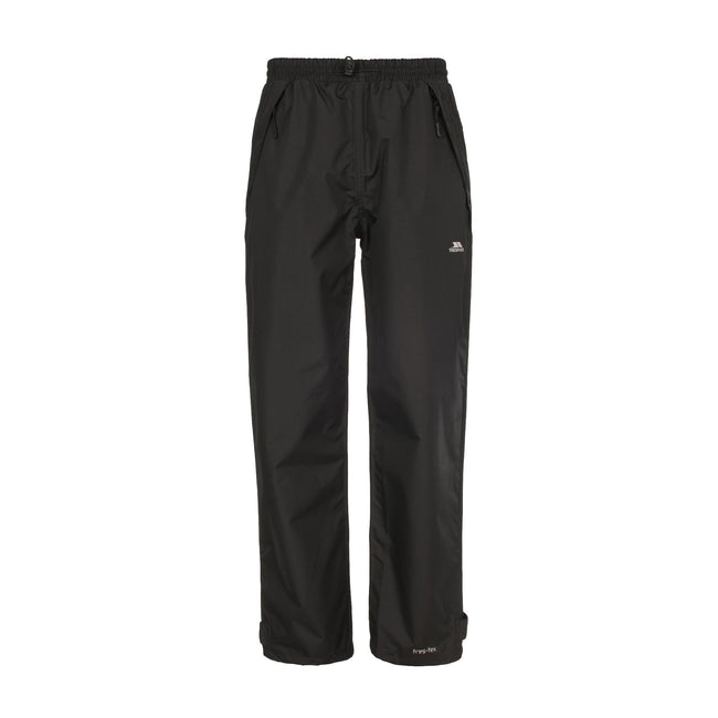 Black - Front - Trespass Womens-Ladies Tutula Waterproof Pants-Trousers