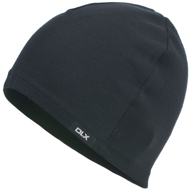 Black - Front - Trespass Adults Unisex Kanon Wool Beanie Hat