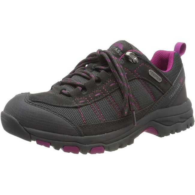 Castle - Front - Womens-Ladies Scree Lace Up Technical Walking Shoes