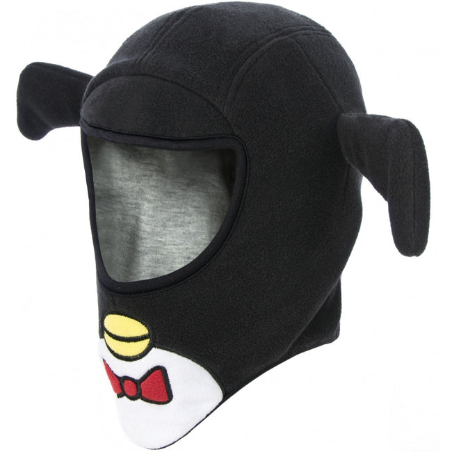 Black - Front - Trespass Childrens-Kids Pengu Novelty Balaclava