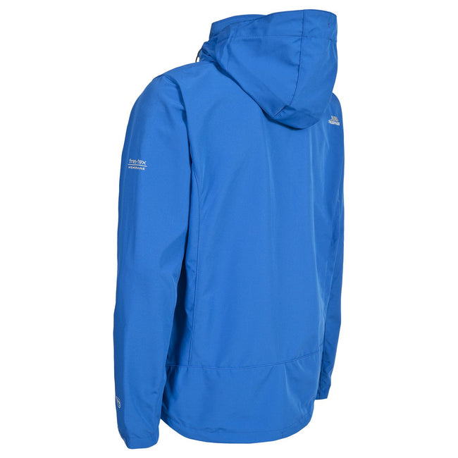 Black - Front - Trespass Mens Stanford Softshell Jacket