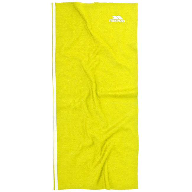 Hi Vis Yellow - Front - Trespass Mens Quay Multifunctional Neck Scarf