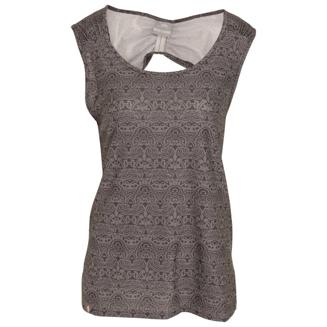 Herb Print - Front - Trespass Womens-Ladies Ono Adventure Vest Top With Round Neck