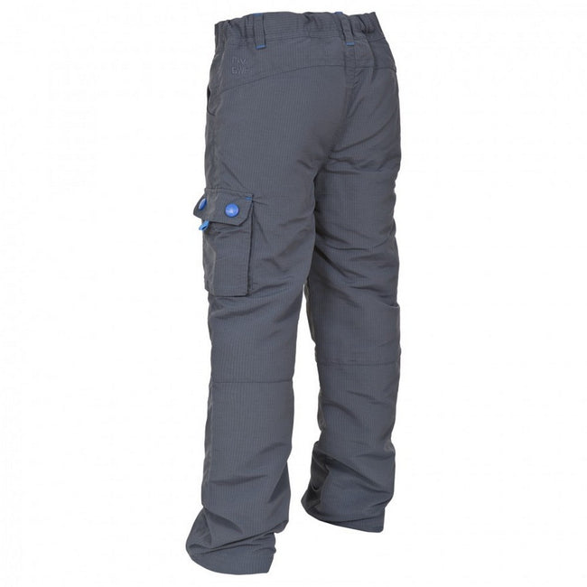 Flint - Back - Trespass Childrens Boys Sampson Walking Trousers-Pants