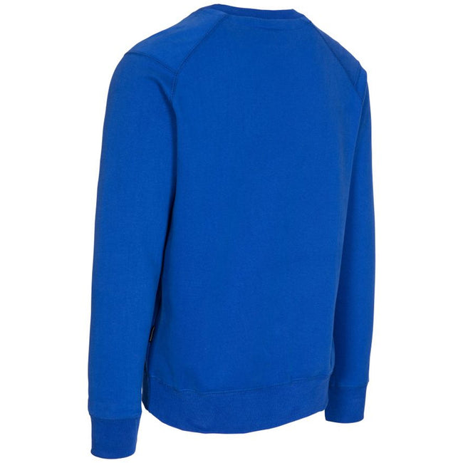 Navy - Front - Trespass Mens Thurles Sweater
