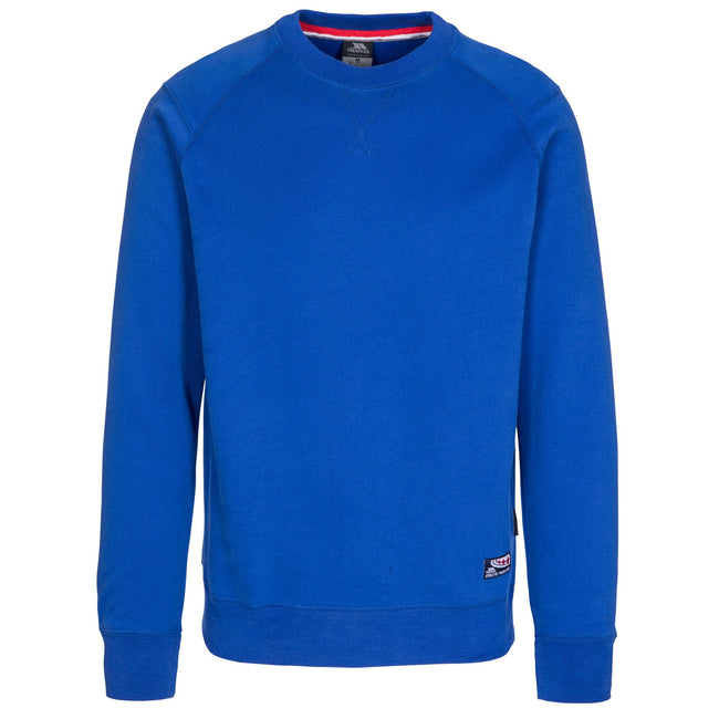 Blue - Front - Trespass Mens Thurles Sweater