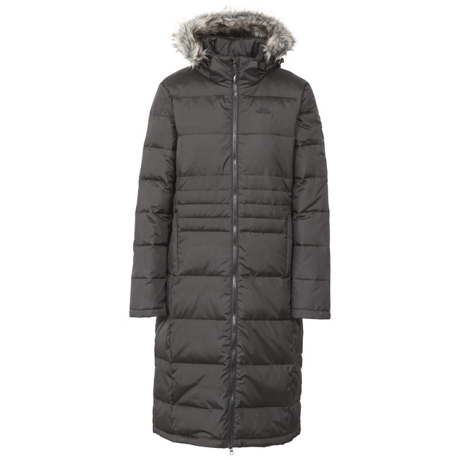 Dusty Heather - Front - Trespass Womens-Ladies Phyllis Parka Down Jacket