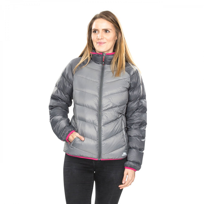 Storm Gray - Back - Trespass Womens-Ladies Kirstin Down Jacket