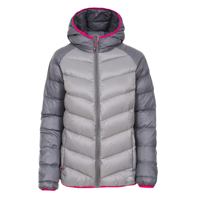 Storm Gray - Front - Trespass Womens-Ladies Kirstin Down Jacket