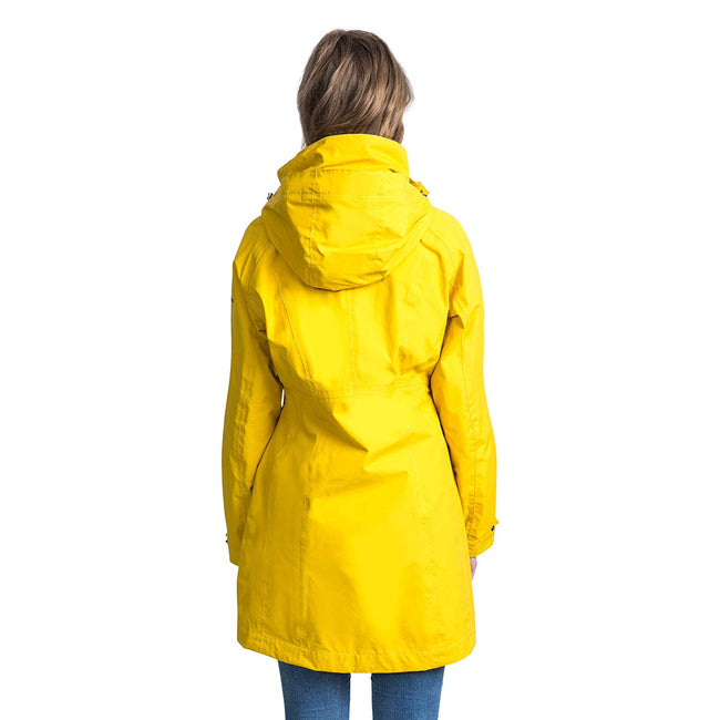Gold - Side - Trespass Womens-Ladies Rainy Day Waterproof Jacket