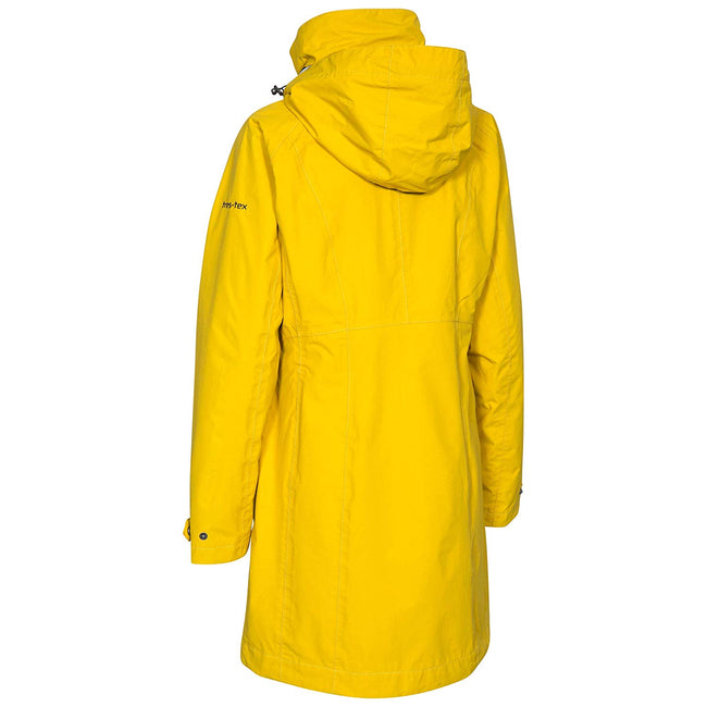 Gold - Lifestyle - Trespass Womens-Ladies Rainy Day Waterproof Jacket