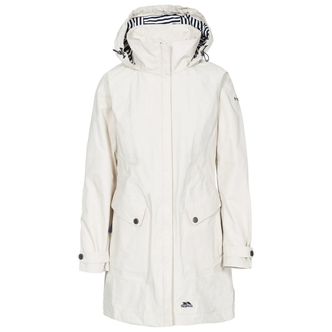 Fawn - Front - Trespass Womens-Ladies Rainy Day Waterproof Jacket