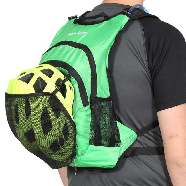 Green - Front - Trespass Ultra 22 Light Rucksack-Backpack (22 Liters)