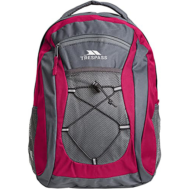 Beetroot - Front - Trespass Neroli Rucksack-Backpack (28 Liters)