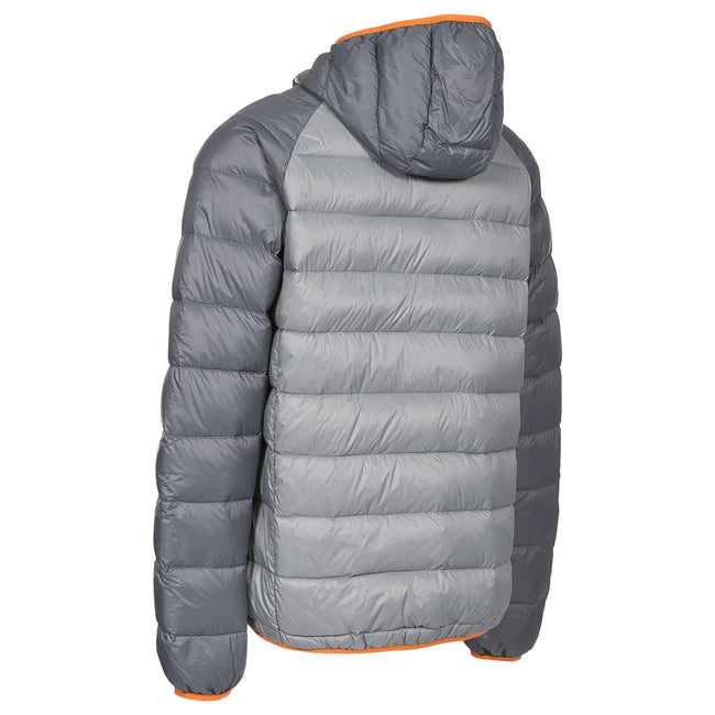 Storm Gray - Side - Trespass Mens Rusler Down Jacket