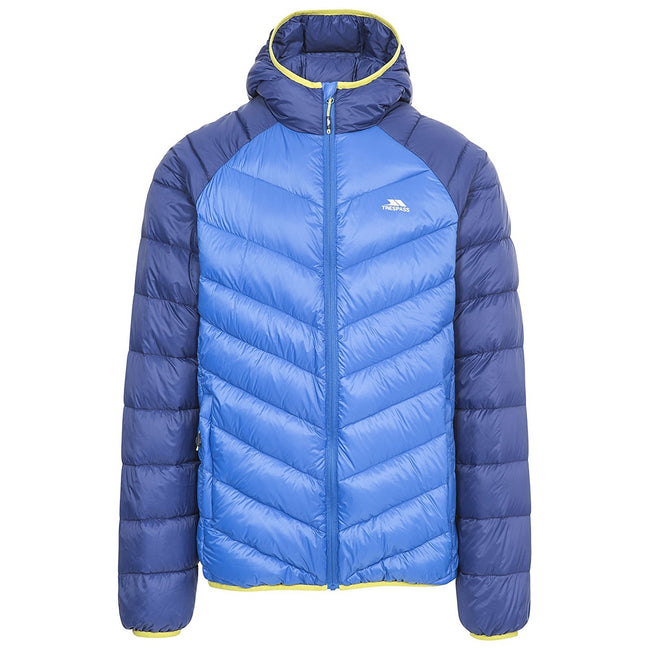 Blue - Front - Trespass Mens Rusler Down Jacket