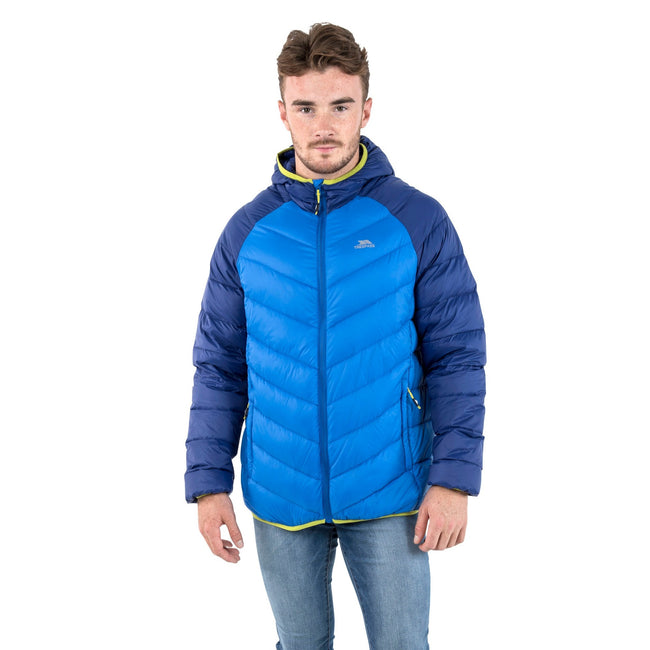 Moss - Front - Trespass Mens Rusler Down Jacket