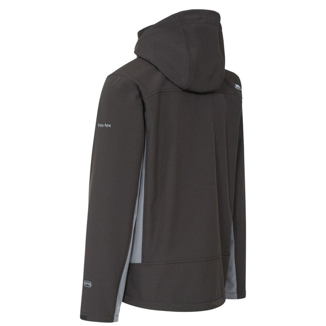 Blue - Front - Trespass Mens Strathy II Softshell Jacket
