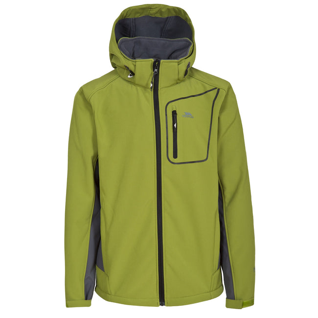 Cedar Green - Front - Trespass Mens Strathy II Softshell Jacket