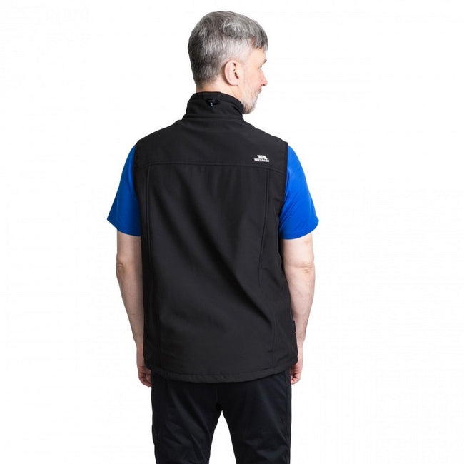 Black - Lifestyle - Trespass Mens Vassus Soft-shell Jacket