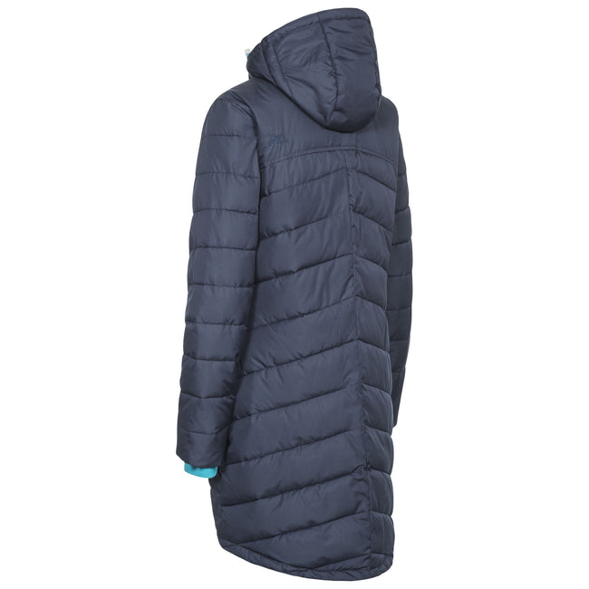 Navy - Back - Trespass Womens-Ladies Homely Padded Jacket