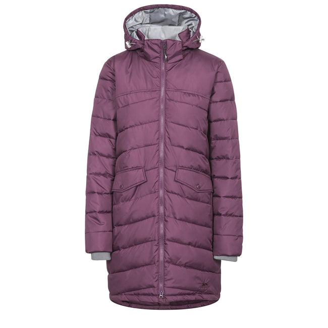 Blackberry - Front - Trespass Womens-Ladies Homely Padded Jacket