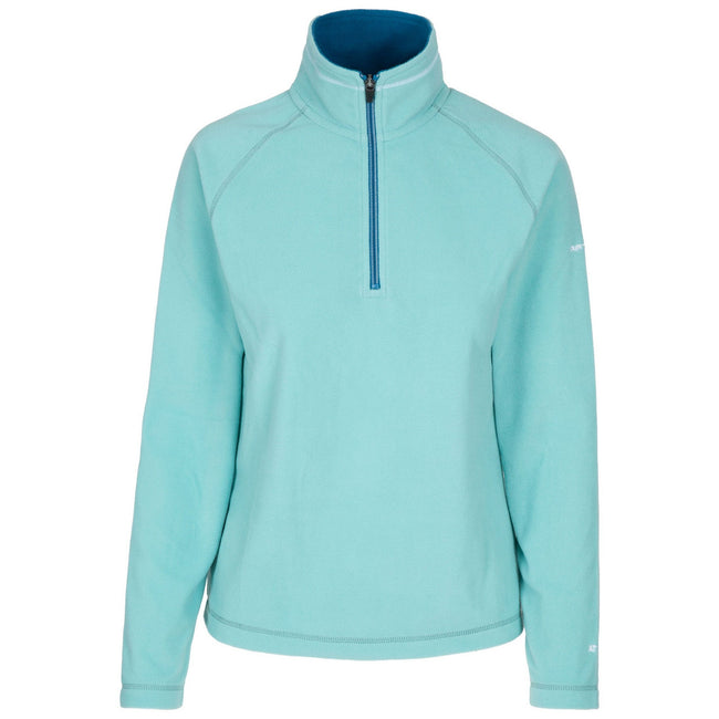 Marine - Front - Trespass Womens-Ladies Skylar Fleece Top