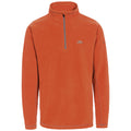 Burnt Orange - Front - Trespass Mens Maringa Fleece Top