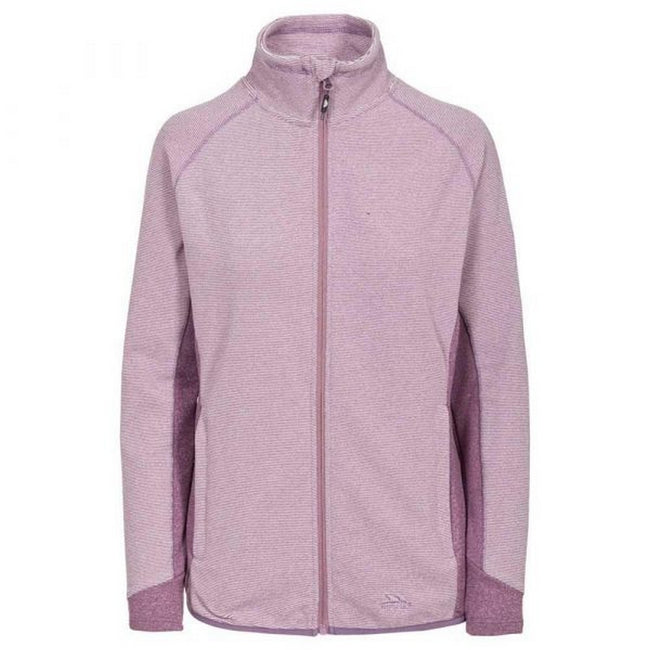 Blackberry - Front - Trespass Womens-Ladies Detour Full Zip Fleece