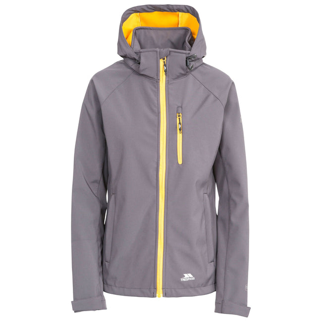 Pink Lady - Front - Trespass Womens-Ladies Lorina Waterproof Softshell Jacket