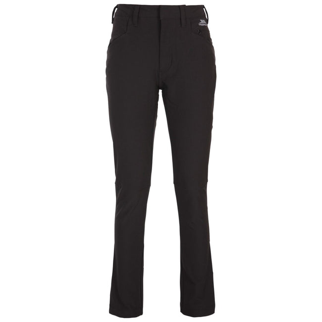 Black - Front - Trespass Womens-Ladies Catria Pants