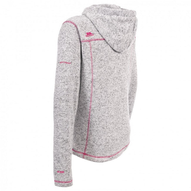 Ghost - Cerise - Back - Trespass Womens-Ladies Odelia Fleece Jacket