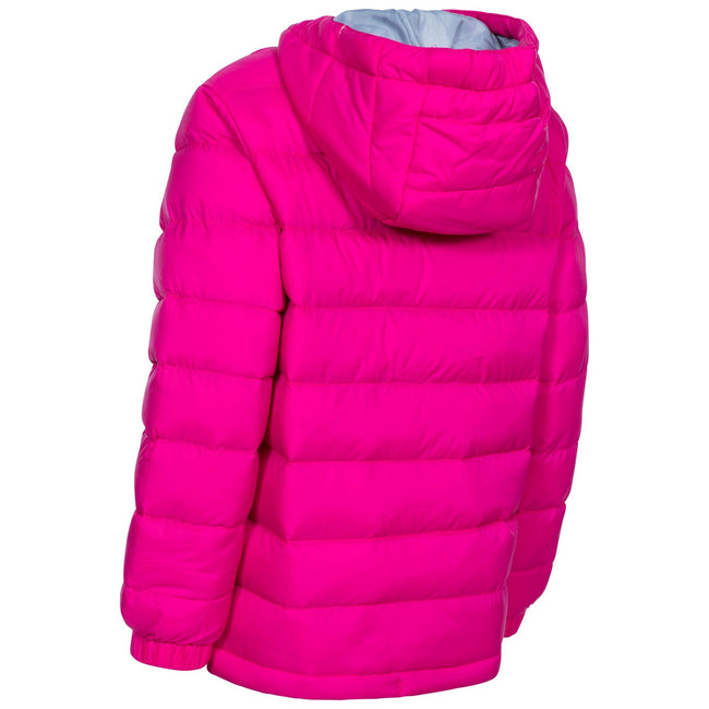 Blue - Front - Trespass Childrens-Kids Aksel Padded Jacket