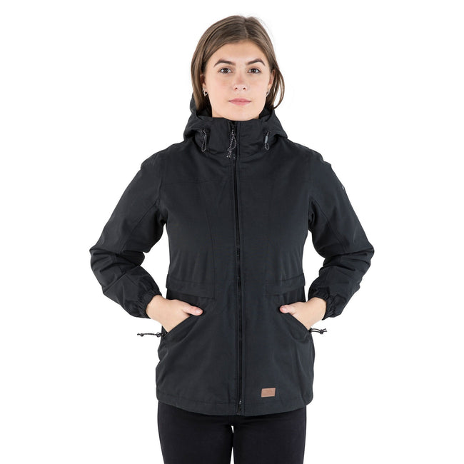 Potent Purple - Front - Trespass Womens-Ladies Liberate Jacket