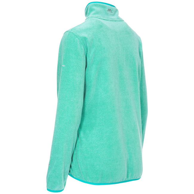 Purple Orchid Stripe - Front - Trespass Womens-Ladies Ciaran Fleece Top