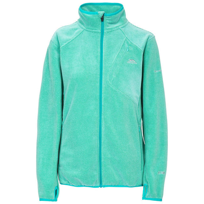 Lagoon Stripe - Front - Trespass Womens-Ladies Ciaran Fleece Top