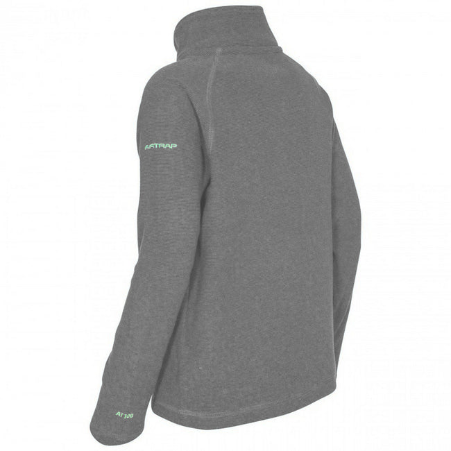 Blue - Front - Trespass Childrens-Kids Keynote Fleece