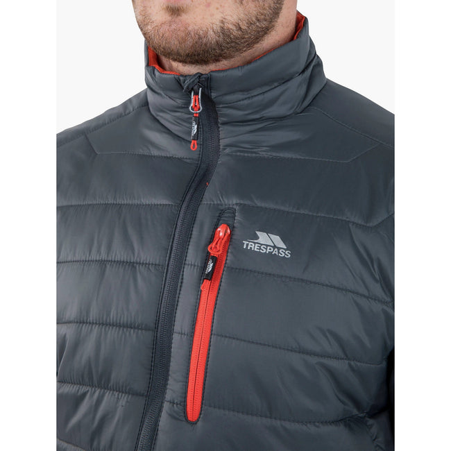 Navy - Front - Trespass Mens Norman Padded Jacket