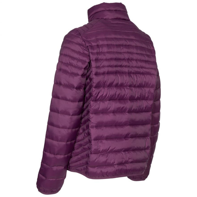 Potent Purple - Close up - Trespass Womens-Ladies Simara Jacket