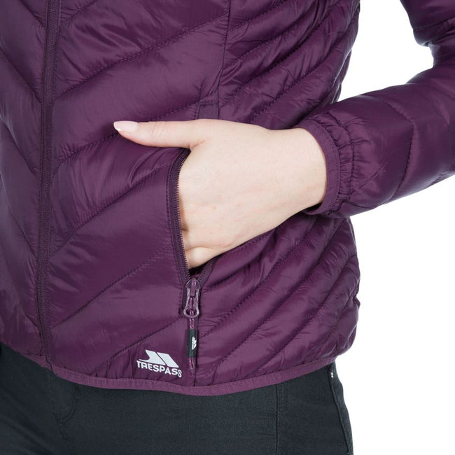 Fig - Back - Trespass Womens-Ladies Simara Jacket