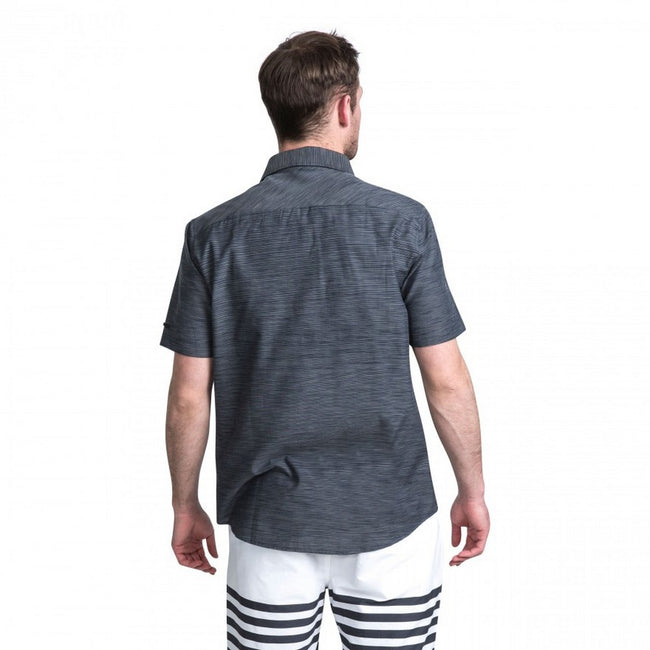 Carbon Marl - Lifestyle - Trespass Mens Matadi Short Sleeve Shirt