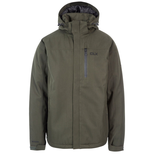 Olive - Front - Trespass Mens Renner Waterproof Jacket