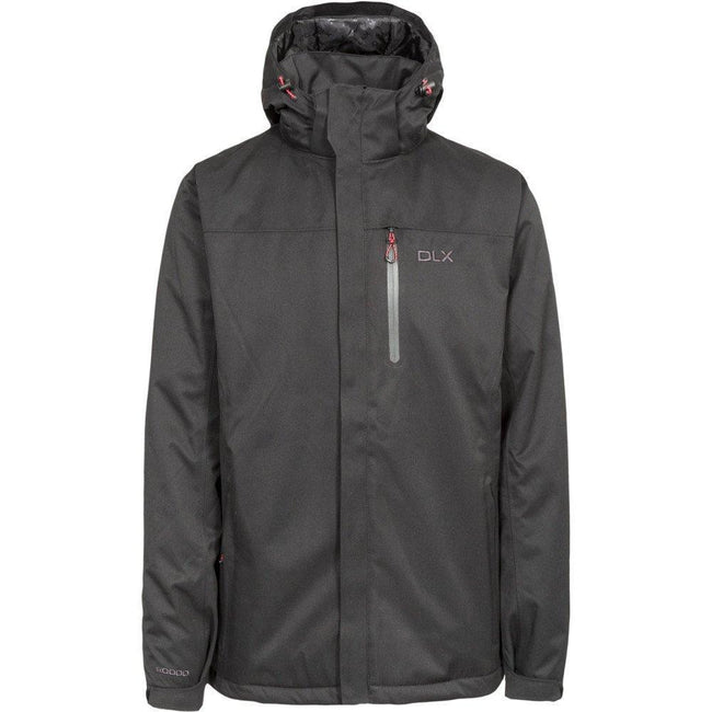 Black - Front - Trespass Mens Renner Waterproof Jacket