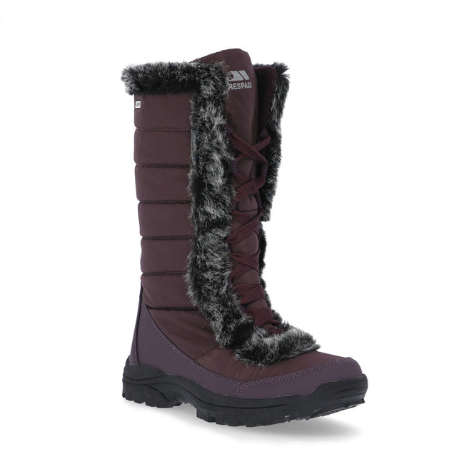 Fig - Front - Trespass Womens-Ladies Coretta Snowboots