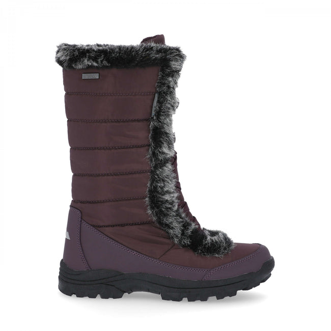 Fig - Back - Trespass Womens-Ladies Coretta Snowboots