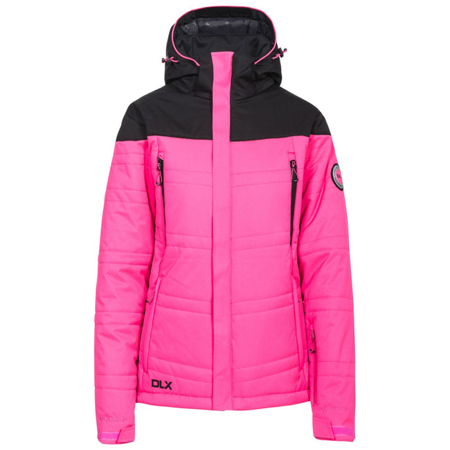 Fuchsia - Front - Trespass Womens-Ladies Thandie Ski Jacket