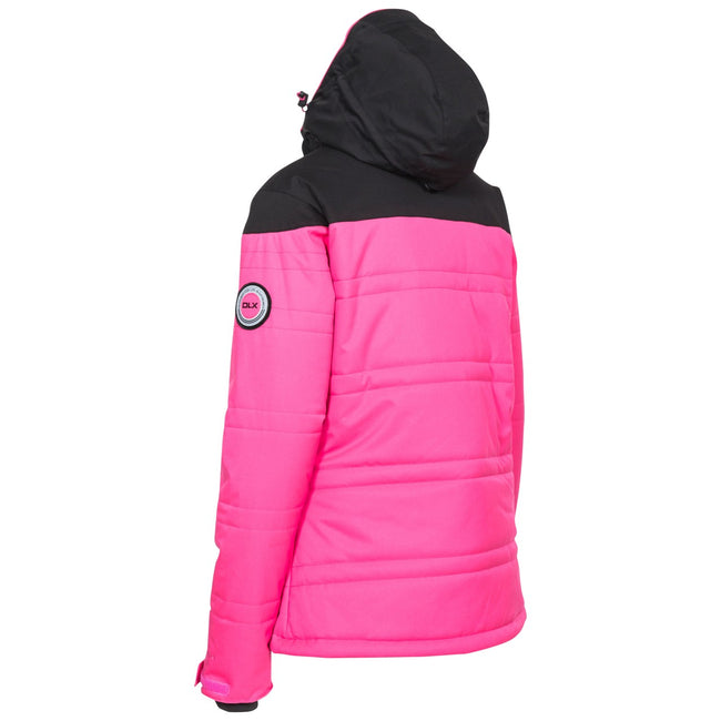Fuchsia - Back - Trespass Womens-Ladies Thandie Ski Jacket