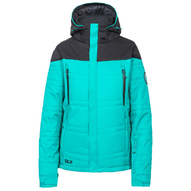 Ocean Green - Front - Trespass Womens-Ladies Thandie Ski Jacket