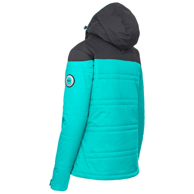 Ocean Green - Back - Trespass Womens-Ladies Thandie Ski Jacket